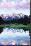 Grand Teton Tableau sur toile par Christopher Talbot Frank