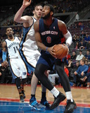 Jan 5  2014  Memphis Grizzlies vs Detroit Pistons - Andre Drummond  Kosta Koufos