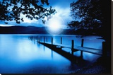 Lagon bleu Tableau sur toile