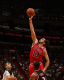 Feb 3  2014  Chicago Bulls vs Miami Heat - Joakim Noah