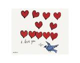 I Love You So, c. 1958 Reproduction d'art par Andy Warhol