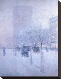 Late Afternoon  New York  Winter  1900