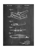 Howard Hughes Airplane Patent Reproduction d'art