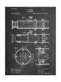 Telescope Vintage Patent 1891 Reproduction d'art