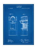 Beer Cooler Patent 1876 Reproduction d'art