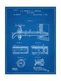 Vintage Beer Tap Patent Reproduction d'art