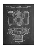 Photographic Camera Patent Reproduction d'art