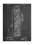 Wright Brother's Flying Machine Patent Reproduction d'art