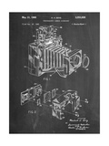 Photographic Camera Accessory Patent Reproduction d'art