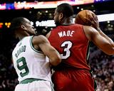 Mar 19  2014  Miami Heat vs Boston Celtics - Rajon Rondo  Dwayne Wade
