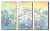 Gilt Branches Tableau multi toiles par Jennifer Goldberger