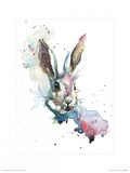 March Hare Reproduction d'art par Sarah Stokes