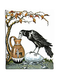 Aesop: Crow and Pitcher