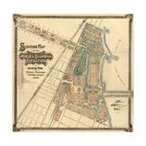 Map: World's Fair  1893