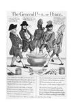 Treaty of Paris Cartoon
