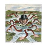 Imperialism Cartoon  1882