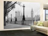 London Fog Wall Mural