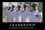 Leadership: Citation Et Affiche D'Inspiration Et Motivation