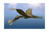 Tropeognathus Mesembrinus  a Large Pterosaur from the Late Cretaceous Period