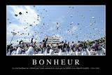 Bonheur: Citation Et Affiche D'Inspiration Et Motivation