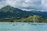 Bay of Hanalai on the Island of Kauai  Hawaii  United States of America  Pacific