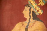 Prince of Lilies Fresco