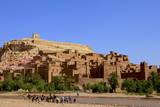 Kasbah  Ait-Benhaddou  UNESCO World Heritage Site  Morocco  North Africa  Africa