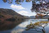 Autumn  Lake Ullswater  Lake District National Park  Cumbria  England  United Kingdom  Europe
