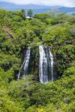 Opaekaa Falls  Kauai  Hawaii  United States of America  Pacific