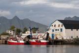 Svolvaer  Lofoten Islands  Norway  Scandinavia  Europe