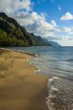 Kee Beach on the Napali Coast  Kauai  Hawaii  United States of America  Pacific