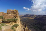 Ancient Town of Zakati  Central Mountains of Bukur  Yemen  Middle East