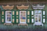 Wooden Architecture  Irkutsk  Siberia  Russia  Eurasia