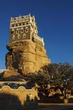 Rock Palace (Dar Al Hajar)  Wadi Dhar  Yemen  Middle East