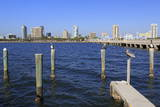 St Petersburg Skyline  Tampa  Florida  United States of America  North America