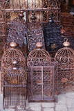 Intricately Crafted Bird Cages in Souk Addadine (Metalworkers Souk)