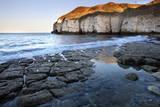 Thornwick Bay at Sunset