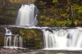 Brecon Beacons Waterfall  Powys  Wales  United Kingdom  Europe