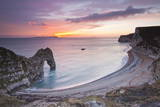 A Colourful Sunset over Durdle Door