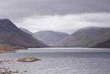 Low Rain Clouds Surrunding the Fells Above Wast Water in the Lake District National Park
