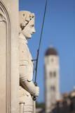 Close-Up of Statue on Placa  Dubrovnik  Croatia  Europe