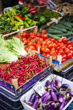 Chillies and Tomatoes for Sale at Capo Market