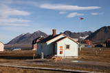 Most Northerly Post Office in the World  Ny Alesund  Svalbard  Norway  Scandinavia  Europe