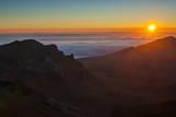 Sunrise Above Haleakala National Park  Maui  Hawaii  United States of America  Pacific