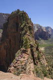 Trail to Angels Landing  Zion National Park  Utah  United States of America  North America