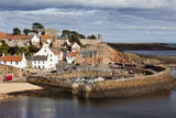 Incoming Tide at Crail Harbour  Fife  Scotland  United Kingdom  Europe