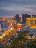 The Strip  Las Vegas  Nevada  United States of America  North America