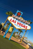 Welcome to Fabulous Las Vegas Sign  Las Vegas  Nevada  United States of America  North America
