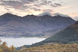 The Five Sisters of Kintail in the Scottish Highlands  Scotland  United Kingdom  Europe