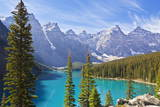 Moraine Lake in the Valley of the Ten Peaks